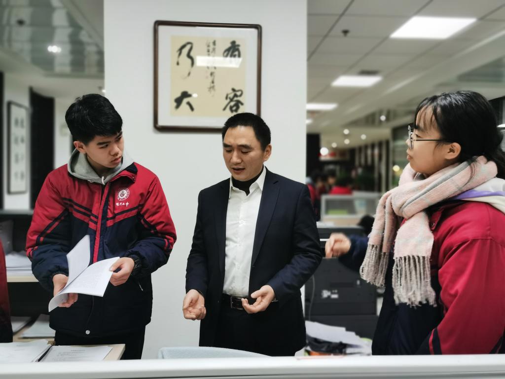 行走在律所的法律课堂 ——株洲市二中学生走进湖南誉翔律师事务所体验律师工作
