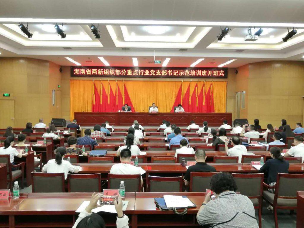 湖南省两新组织部分重点行业党支部书记示范培训班学习心得