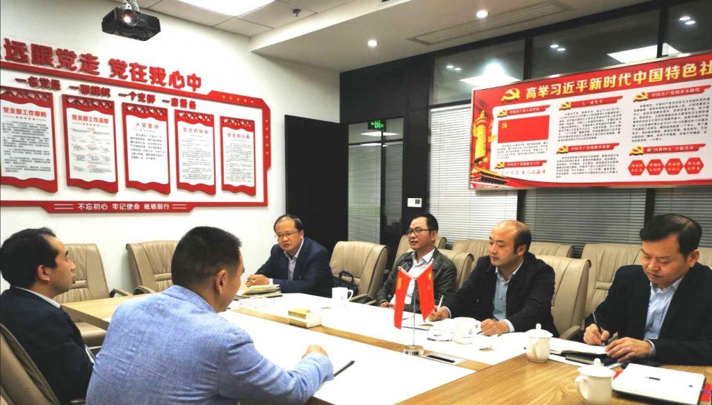 市委两新工委调研市律师行业党建工作